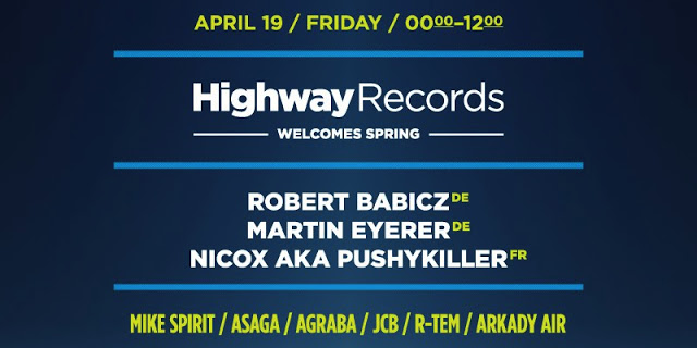 Highway Records Welcomes Spring, Москва, 19.04.13