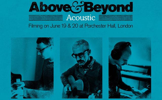 Above & Beyond дадут акустические концерты