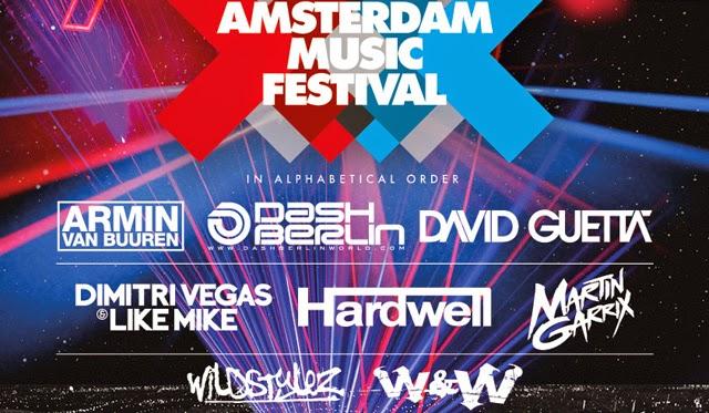 Amsterdam Music Festival 2014: Line Up
