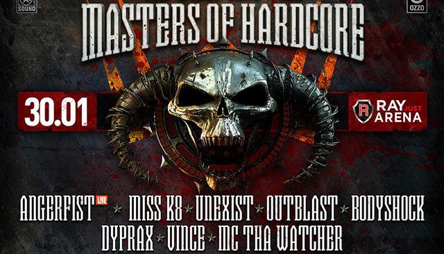 Masters of Hardcore, Москва, 30.01.16