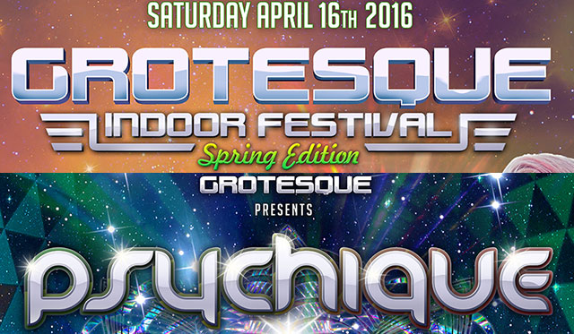 Grotesque & Psychique weekender 2016