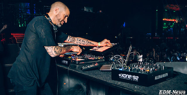 Фото Chris Liebing, Space Moscow, 04.03.16