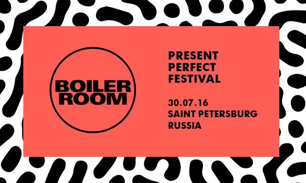 Boiler Room & Adidas Originals x Present Perfect