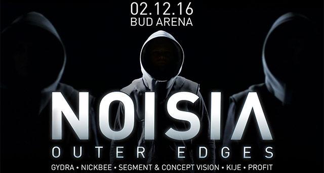 "Noisia ""Outer Edges"", Москва, 02.12.16"