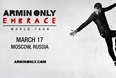 Armin Only Embrace, Москва, 17.03.17