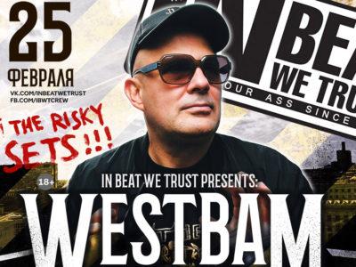 Westbam, Петербург, 25.02.17