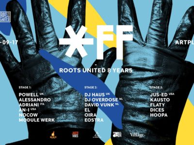 OFF: Roots United 8 Years, Санкт-Петербург, 23.09.17