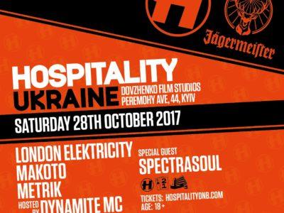 Hospitality, Киев, 28.10.17